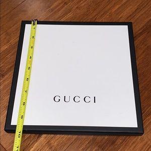 Authentic Gucci box (empty)